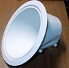 "Halo 6"" Line Voltage Slope Ceiling Trim and Reflector-White"