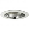 "Halo 6"" Compact Fluorescent Trim with Clear Specular Reflector-White"