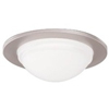 "Halo 5"" Line Voltage Trim with Frosted Diffuser-Satin Nickel"