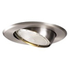 "Halo 5"" Line Voltage Trim with Adjustable Eyeball-Satin Nickel"