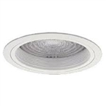 "Halo 8"" Compact Fluorescent Trim with Fresnel Lens-White"