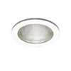 "Halo 4"" Line Voltage Trim with Full Reflector and Glass Lens-White"