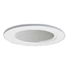 "Halo 4"" Line Voltage Trim with Baffle-White"
