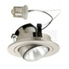 "Halo 4"" Line Voltage Trim with Adjustable Eyeball-Satin Nickel"