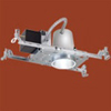 "Halo 3"" Low Voltage Non-IC Rated New Construction Recessed Housing"