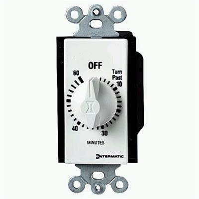 Intermatic 60 Minute Auto Shut Off Timer
