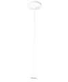 "Juno Lighting 12"" Rigid Ceiling Pendant Stem Kit-White"