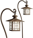 Kichler 15319 Mission Lantern 18.5W Low Voltage Path & Spread Light