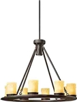 Kichler 15402 Oak Trail 12V Outdoor Chandelier - Low Voltage Specialty Lighting