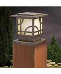 Kichler 15474 Larkin Estate Post Low Voltage Deck & Patio Light