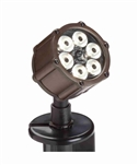 Kichler 15743 8.5W 60 Wide Flood LED Accent Light Low Voltage Lighting