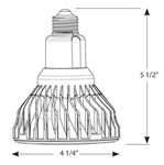 Cree LBR30A92-50D-12 Watt - Dimmable LED - BR30