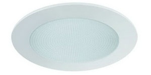 Liton Lightiing LR12PW - Shower Trim with Albalite Lens White