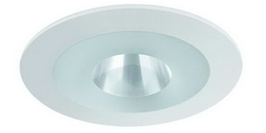 Liton Lightiing LR1424W - Shower Deco Glass (Frosted Ring) White