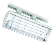 Liton Lightiing LTF218W  - Biaxial Wall Wash Track White