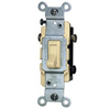 Leviton Toggle Switch 3-Way-Ivory
