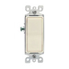 Leviton Decora Rocker Switch Single-Pole-Almond