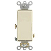 Leviton Decora Illuminated Rocker Switch Single-Pole-Almond