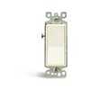 Leviton Decora Illuminated Rocker Switch 3-Way-Ivory