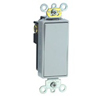 Leviton Decora Plus Rocker Switch Single-Pole-Gray