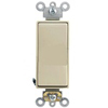 Leviton Decora Plus Rocker Switch Single-Pole Commercial Grade-Ivory