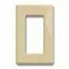 Leviton 1-Gang Decora Plus Screwless Wall Plate-Ivory