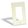 Leviton 1-Gang Decora Wall Plate-Almond