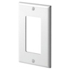 Leviton 1-Gang Decora Wall Plate-White