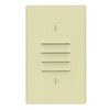 Leviton 1-Gang Louver Wall Plate-Ivory