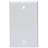 Leviton 1-Gang Blank Wall Plate-White