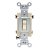 Leviton 20A Toggle Switch 3-Way Commercial Grade-Ivory