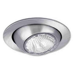 "Liton Lighting 4"" Line Voltage Eyeball Trim-White"
