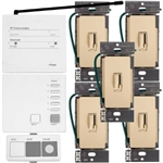Lutron AuroRa Wireless Lighting Control Kit-Ivory