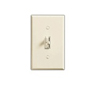 Lutron 1000W Ariadni Toggle Dimmer 3-Way-Light Almond