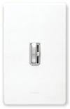 Lutron 1000W Ariadni Toggle Dimmer 3-Way-White