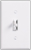 Lutron 1000W Ariadni Locator Light Toggle Dimmer Single-Pole-White