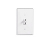 Lutron 600W Ariadni Toggle Dimmer 3-Way Locator Light-White