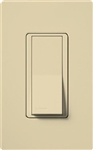 Lutron Claro Decorator Rocker Switch Single-Pole-Ivory