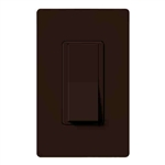 Lutron Claro Decorator Rocker Switch 3-Way-Brown