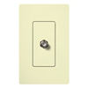 Lutron Claro Decorator Cable Jack Insert-Almond