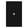 Lutron Claro Decorator Cable Jack Insert-Black