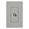 Lutron Claro Decorator Cable Jack Insert-Gray