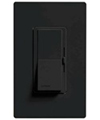 Lutron 600W Diva Magnetic Low Voltage Dimmer Single-Pole-Black