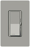 Lutron 600W Diva Magnetic Low Voltage Dimmer Single-Pole-Gray