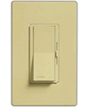 Lutron 600W Diva Magnetic Low Voltage Dimmer Single-Pole-Ivory