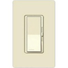 Lutron 600W Diva Magnetic Low Voltage Dimmer Single-Pole-Light Almond