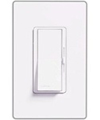 Lutron 600W Diva Magnetic Low Voltage Dimmer Single-Pole-White