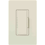Lutron 4.0A Maestro Fan Controller Canopy Module Multi-Location-Light Almond