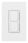 Lutron Maestro Combination Dual 300W Dimmers-White