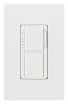 Lutron Maestro Combination 300W Dimmer and Single-Pole Switch-White